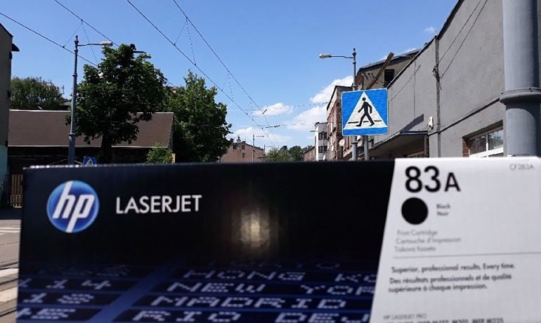 Toner CF283A do drukarki HP LaserJet M127
