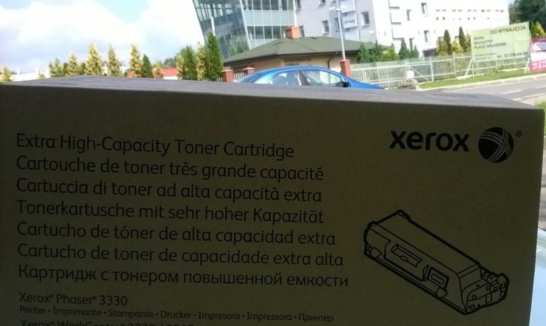 Toner o powiększonej wydajności 106R03623 do Xerox Phaser 3330